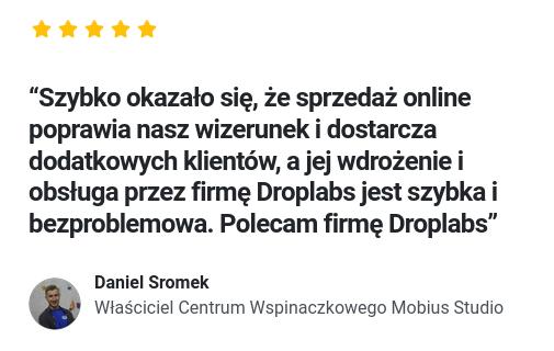 Opinia Mobius Studio o Droplabs