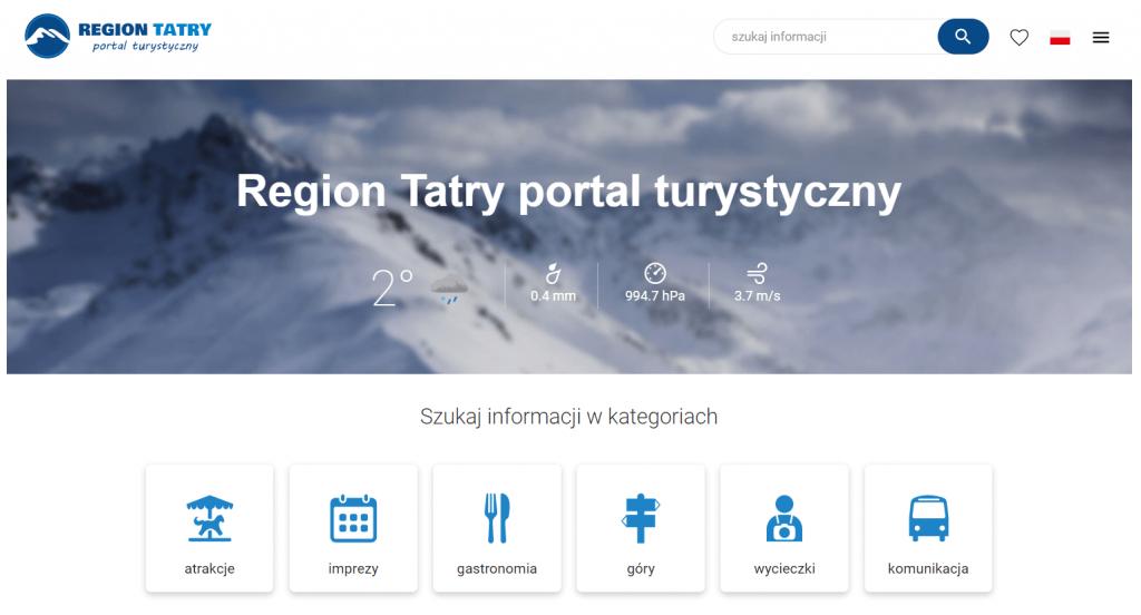 Region tatry