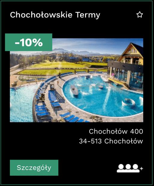 Zniżka do Chochołowa