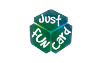 just fun card logo