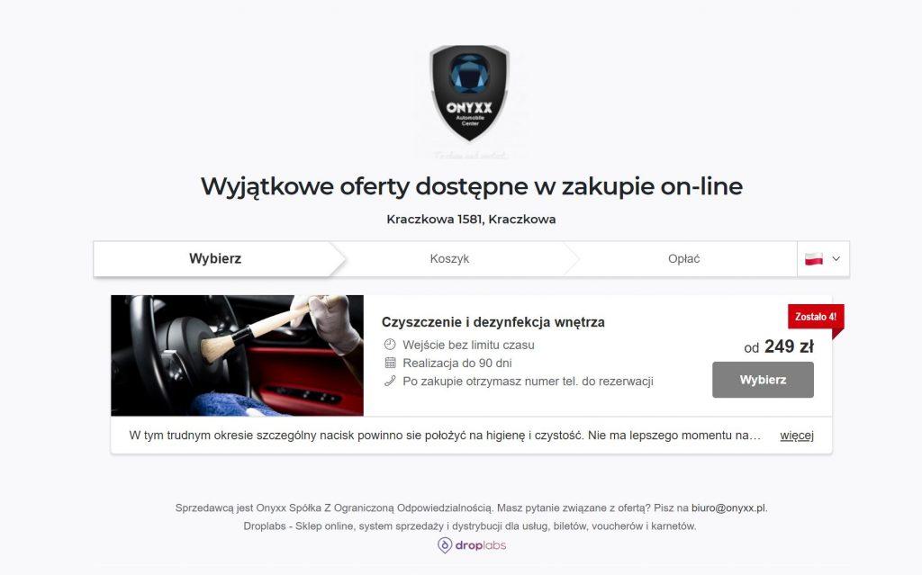 Onyxx Skep online