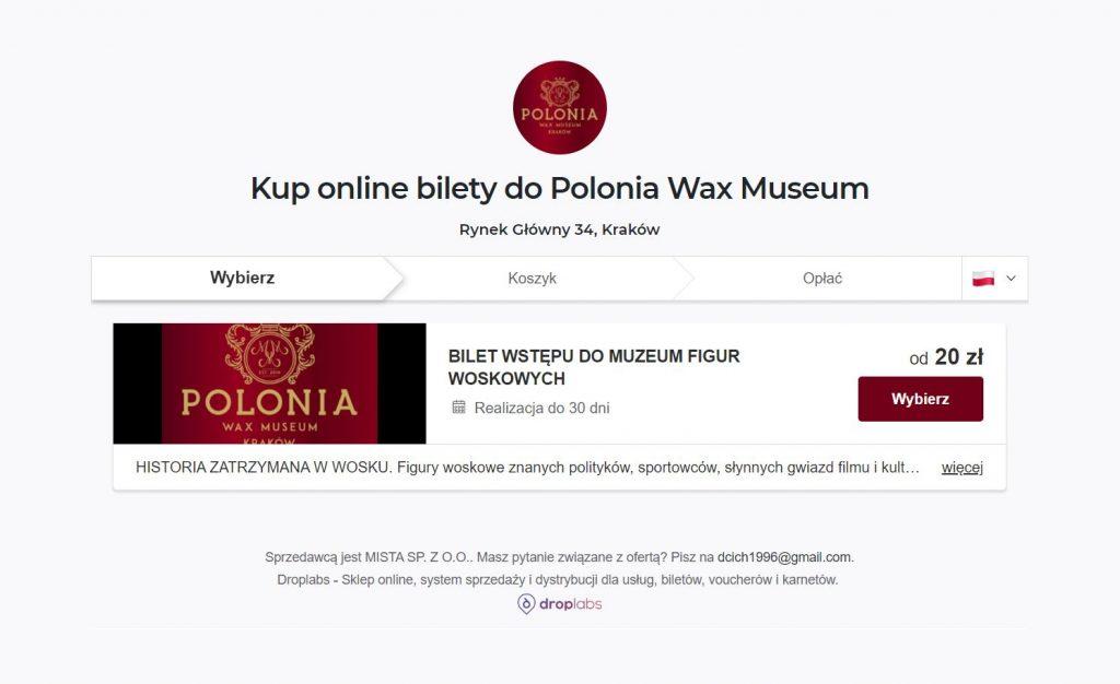 Polonia Wax Museum Online Sklep